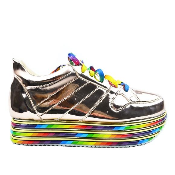 Chase + Chloe Shoes | Womens Rainbow